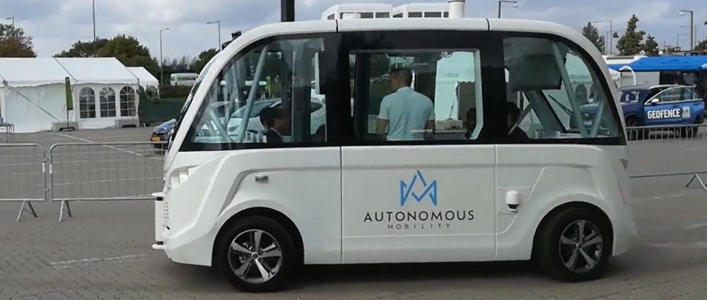 Manglende funding til autonome mini-busser