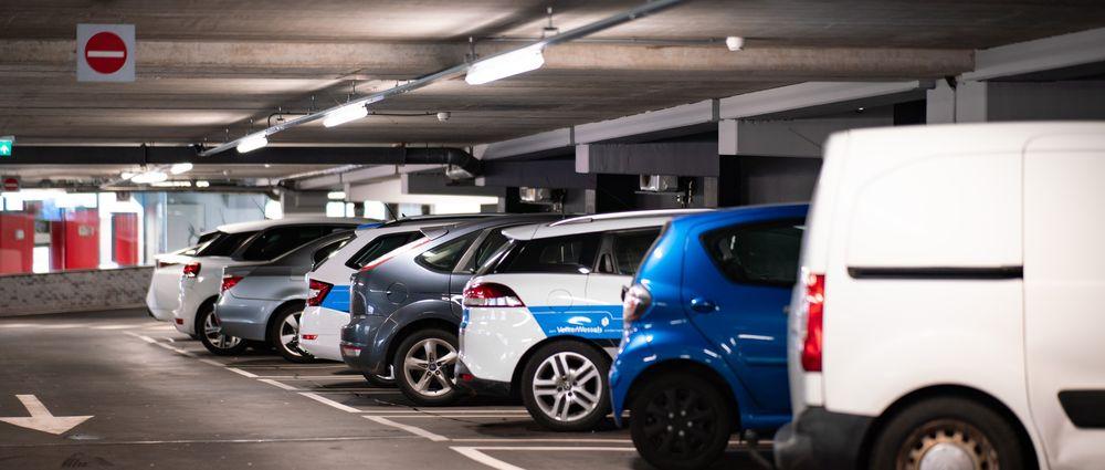 Tilbud om ladning i kommunal parkeringshus
